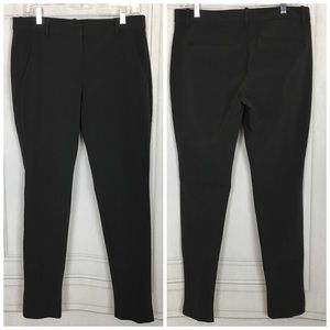 Theory Nabiki Slim Stretch Trouser Pants Sz 10